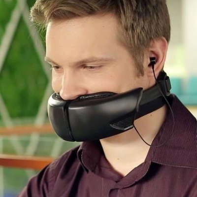 New Device Fits Awkwardly on Your Face, But Has a Super-Practical Purpose